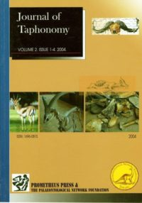 VOLUME 2. NUMBERS 1-4. 2004 [Special volume on Debating Issues of Equifinality in Ungulate Skeletal Part Studies. N. D. Munro & G. Bar-Oz (eds.)]